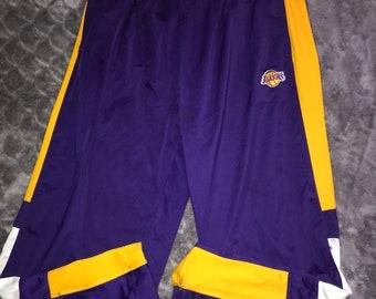 8ccbbc988488 NBA Los Angeles Lakers Mens Warm Up Sweat Pants