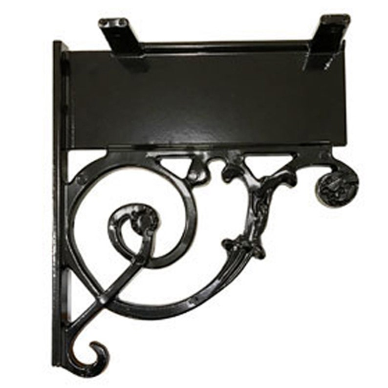 Numbers Mounting Hardware and Pineapple Finial Mailbox /& Post System \u2013 Black Rust Resistant Mailbox \u2013 Includes Address Plaque Scroll