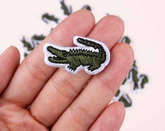 huge discount f4b40 5ce7c Lacoste patch   Etsy