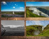 "15 postcard set ""Iceland / Iceland"" photo, motif and greeting cards"
