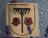 Wooden picture village coat of arms - Individual with desired motif! (without suspension!)