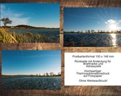 "3-postcard set ""Lake Freiolsheim"" Black Forest photo, motif and greeting cards"