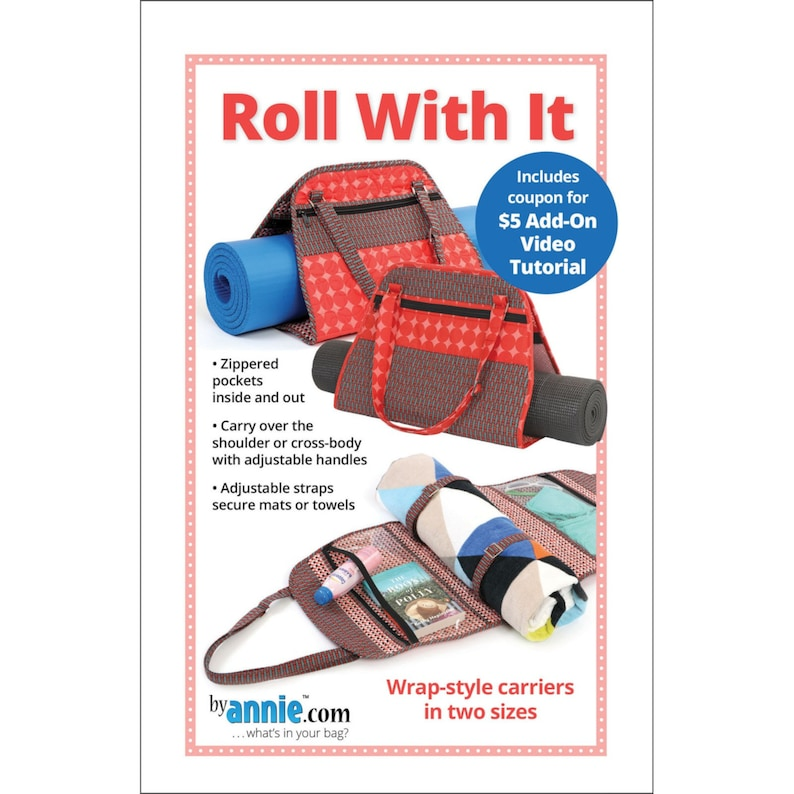 ROLL WITH It  Wrap Style Carrier Pattern By:  Annie image 0