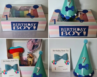Dog Birthday Treat Gift Box!