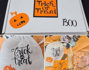 Dog Letterbox treats gift set - Pumpkin Spice