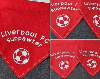 Dog Bandanna - Football teams Suppawter inspired. Any Team for any dog fan!
