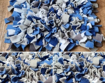 Dog boredom buster Snuffle Mat -perfect game to seek and find treats! - perfect gift for a special furbaby you may be missing!