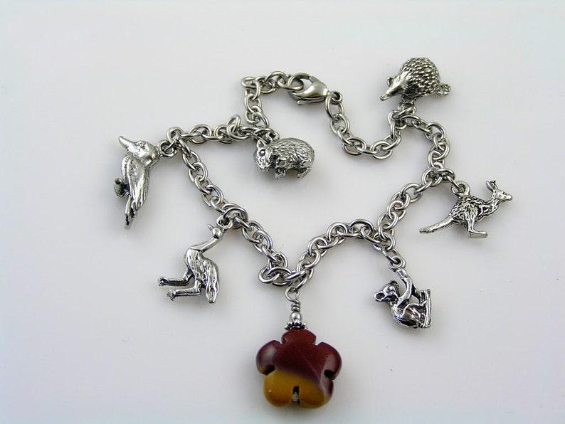 N2125 Koala Necklace Koala Ornament Koala Jewelry Animal Lover Gift Chunky Handmade Necklace Koala Bear Australian Sellers