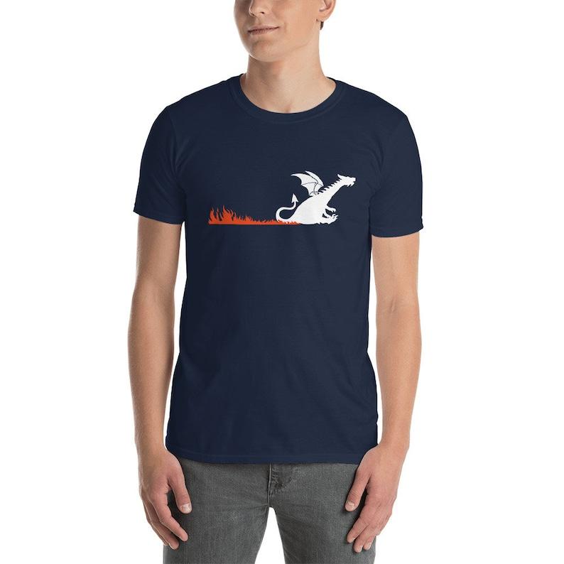 Dragon Butt Scoot Unisex T-Shirt image 1