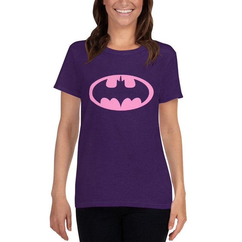 Pink Baticorn  Women's short sleeve t-shirt image 1