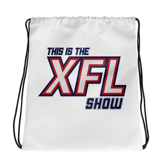This is the XFL Show Logo Drawstring bag  cb53d9df7