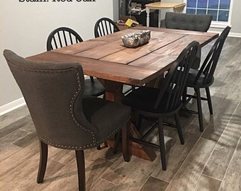 Dining Table And Chairs Etsy