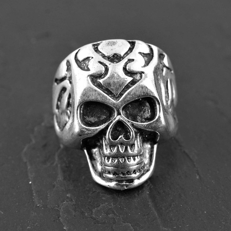 Festival Jewelry,Gift for her Skull Ring,Sterling Silver Ring,Skeleton Ring,Designer ring,Biker Ring,Boho rings,Gypsy ring
