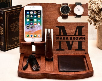 Birthday GiftBirthday Gifts For HimBirthday Gift HusbandHusband GiftPersonalized GiftsDocking StationMens Giftgroomsmen