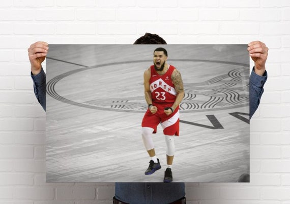 Fred VanVleet   VANVL33T   2019 NBA Champion   Toronto Raptors    Canvas/Poster Art Print