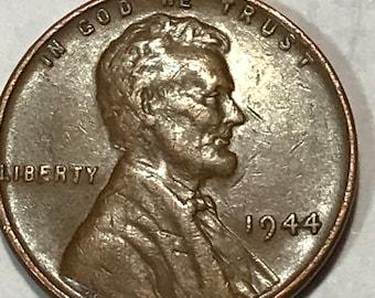 1945 wheat penny mint error | Etsy