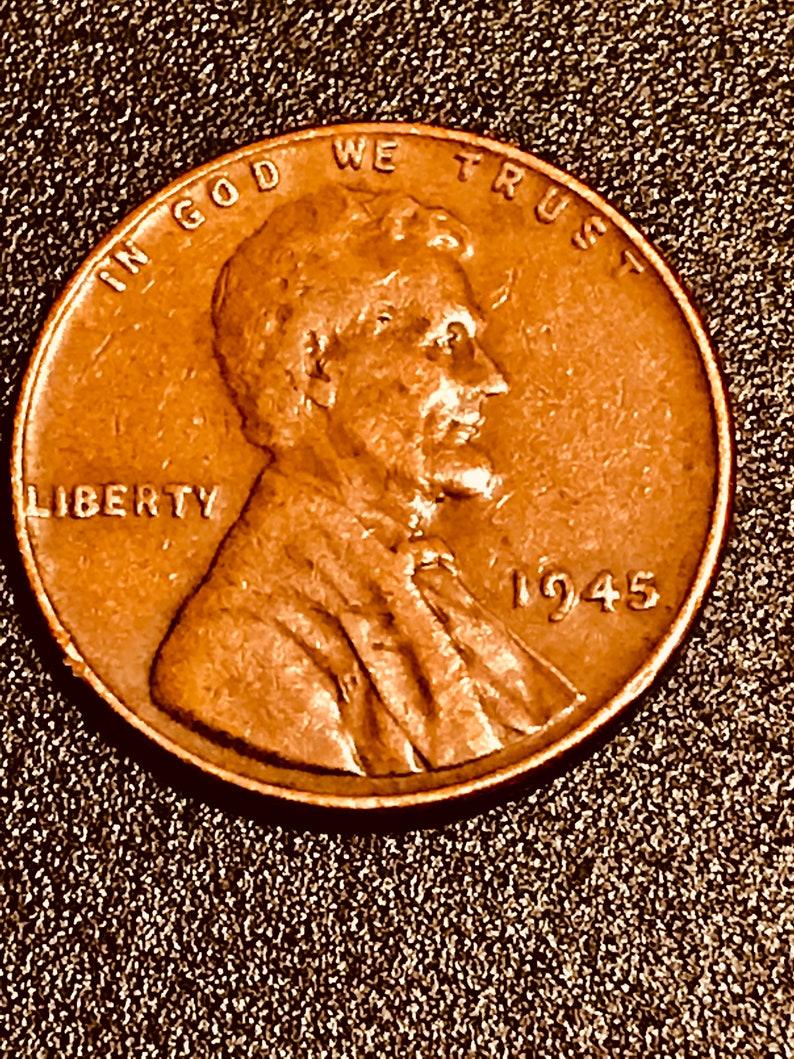 1945 wheat penny mint error
