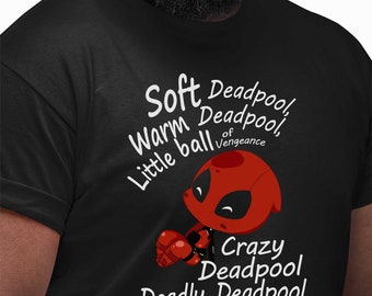 bca0a7be3bb54 Soft Deadpool Bigbang Mashup Funny Comedy Mens T Shirt novelty t shirts  joke t-shirt clothing birthday tee