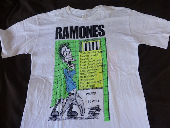 Ramones Australian Tour T shirt 1991