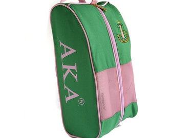 premium selection d5e94 102a0 Alpha Kappa Alpha Shoe Bag