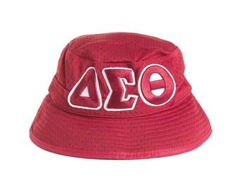da18cc7d4e2 Delta Sigma Theta Red Bucket Hat