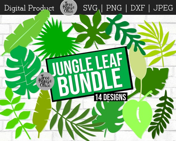 Jungle Leaves Tropical Svg Dxf Png Jpeg Monstera Leaf Etsy Large collections of hd transparent tropical leaves png images for free download. jungle leaves tropical svg dxf png jpeg monstera leaf digital tropical party decor svg leaf cut file jungle clip art palm leaf svg