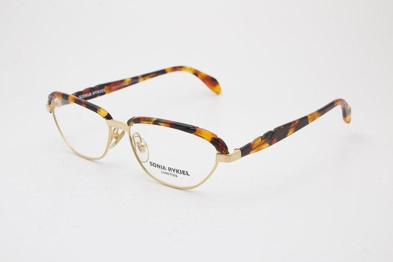 SONIA RYKIEL S.613 W Vintage SunGlasses Woman Cateye/'s Frame High-Fashion Eyewear Stylish Designer Luxury Glasses Classic Shape Fashionistas