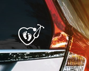 Bump on board safety baby kids boy girl car window vinyl decal sticker