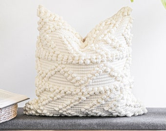 textured pillows etsy