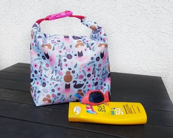 Wetbag, wet bag, swimming pool bag, children's bag, wet bag, bag girl