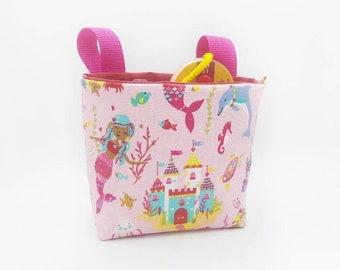 Handlebar bag girl balance bike bike rage, mermaids, handlebar bag girl, birthday gift girl