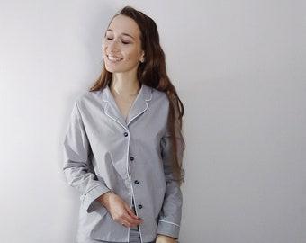 69906742485 Handmade cotton pajama - Women s Pajama and Shorts - High-quality softened  cotton loungewear - Soft cotton pajama set