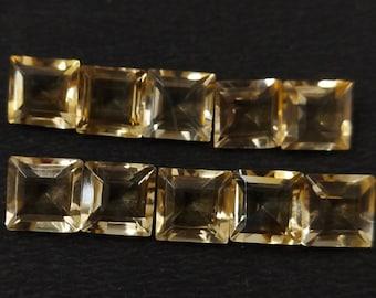 16.5mm 6.5US inner size Minimalist Square Adjustable Raw brass Oz2090