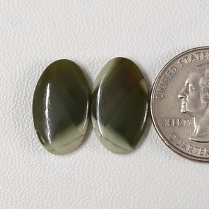 Imperial Jasper Loose Gemstone For Making Silver Earring Natural Imperial Jasper Very Nice Quality Cabochon Matching Pair Gemstone