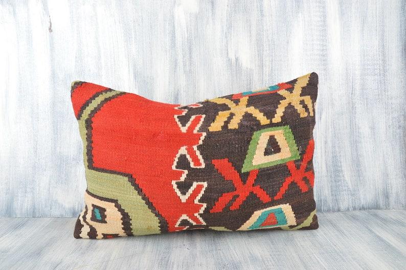 Pillow Sham Natural Home Decor Accent Pillow Pillowcases 16x24 Decorative Kilim Pillow Kilim Lumbar Cushion Covers Throw Pillow Cover