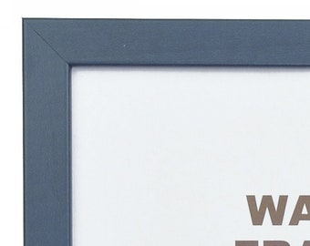 Colori 18x36 Inch 720251836 0.75 Modern Blue Picture Frame Craig Frames
