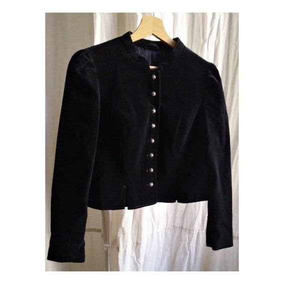 Velvet Tracht Jacket, velvet Jacket, velvet Cardig