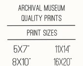 Yellow Bee Design Co.  Museum Quality Archival Print Purchase