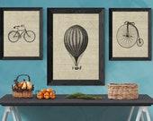 Steampunk Wall Decor | Art Print Archival Paper | Steampunk Bike | Steampunk Bicycle Art Prints |