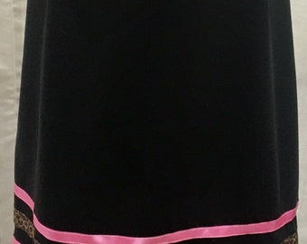 Comfortable Stretch Ribbon Skirt