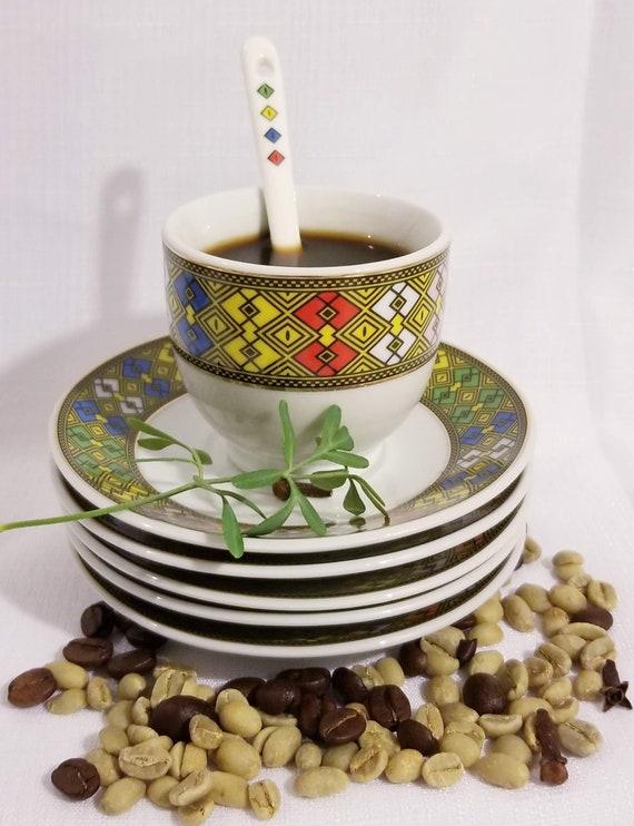 Jebena Ethiopian Eritreanthe Traditional 12pcs Coffee Cup