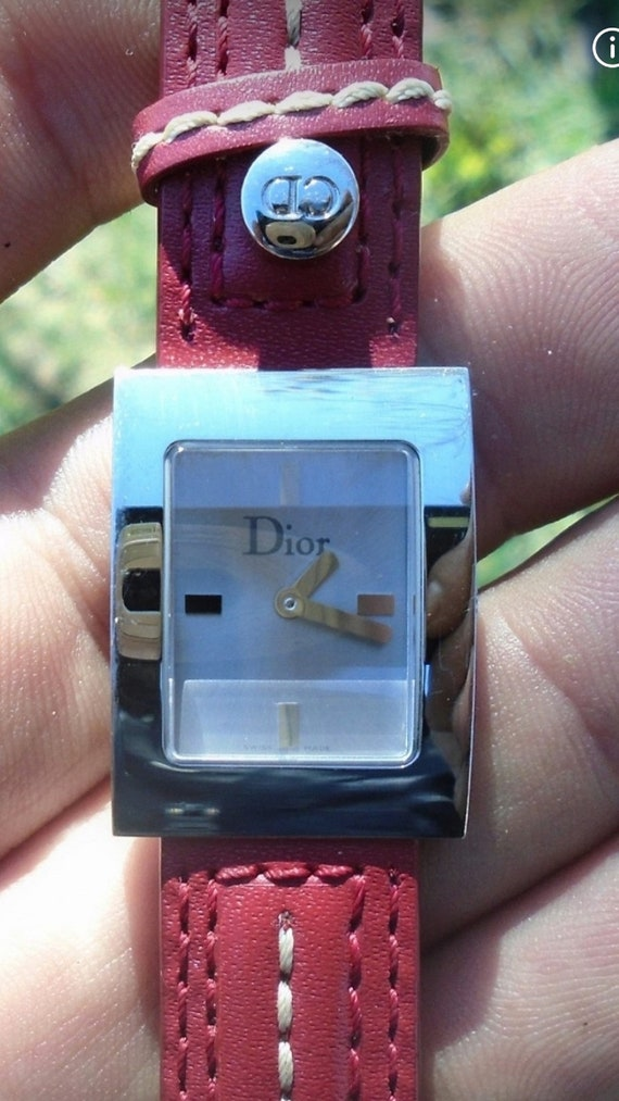 Christian Dior ladies watch in near mint condition - image 1