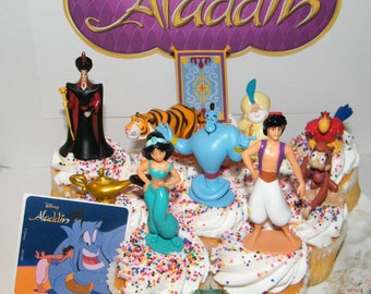 Groovy Toys Hobbies Aladdin Princess Jasmine Birthday Cake Topper Set Personalised Birthday Cards Petedlily Jamesorg