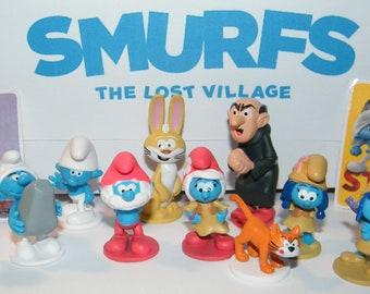 SMURFS /& THE MAGIC FLUTE MOVIE SOUVENIR PROGRAMME FROM 1983 VERY RARE SMURF ITEM