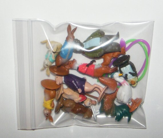 12 Peter Rabbit Cupcake Rings Topper Kid Birthday Party Goody Bag Filler Favor