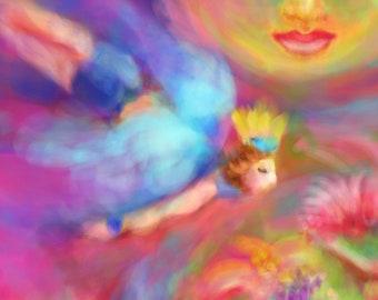 A Midsummer Night's Dream original art giclee print