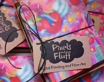 "Art Cards - 5.5"" x 4"" Folded - Premium matte"