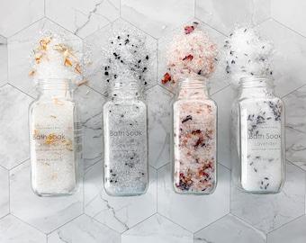 Bath Salts   Jasmine, Rose, Eucalyptus & Spearmint, or Lavender