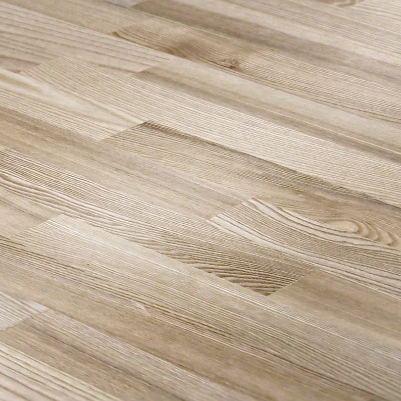 1/12 Light Wood Plank Dollhouse Flooring Miniature 1:12 Floor image 0