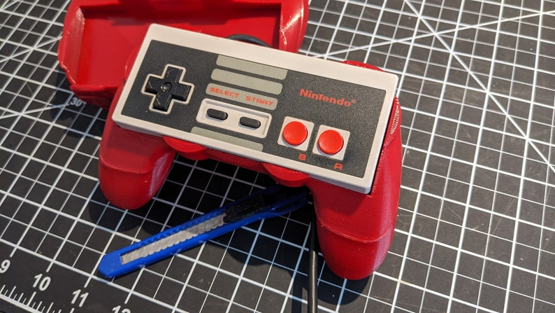 The Most Comfortable NES Grip and Shell  Best Ergonomics  3D Red